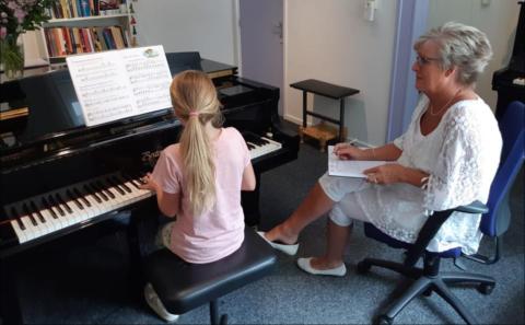 Pianolessen voor kinderen, pubers en volwassenen
